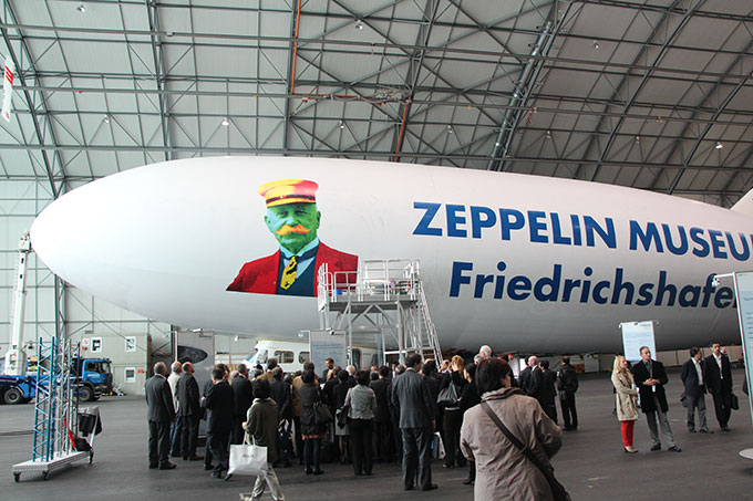Zeppelin with Delegates
